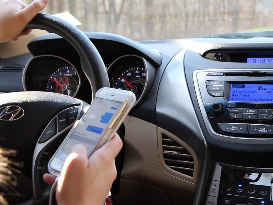 distracted driving, crash, safety, accident, crashes