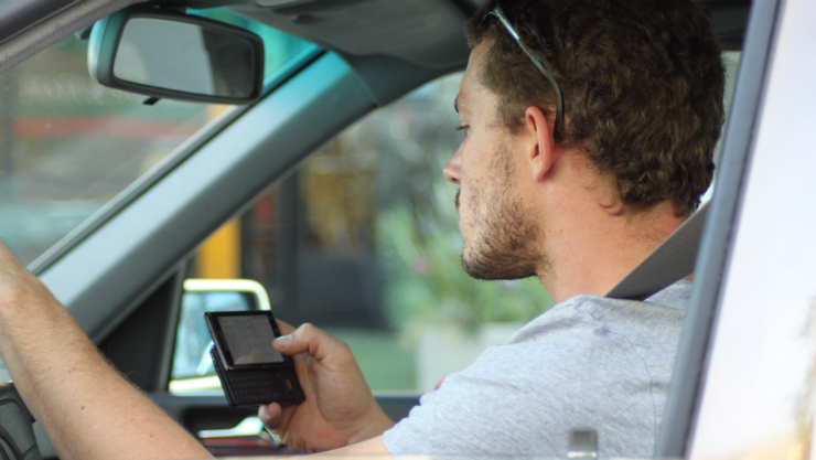 distracted driving, crash, seattle