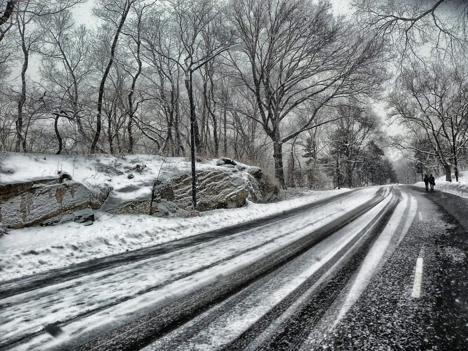 winter driving, accident prevention