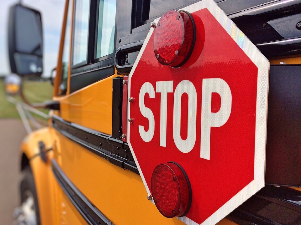 school bus crash accident distracted driving crashes