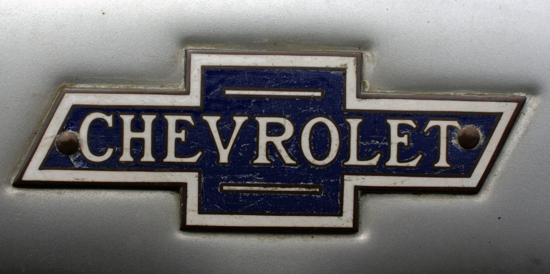 Chevrolet logo blue