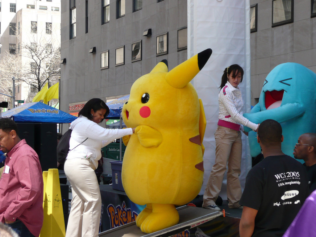 Pokemon D and P Launch Party 3