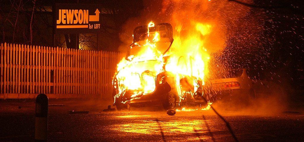 fiery Uber crash, accident