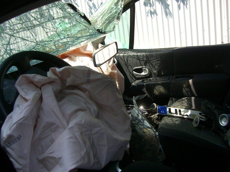air bag accident injury