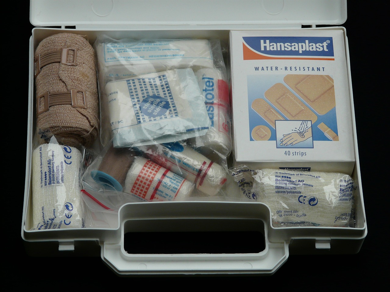 first aid kit safety