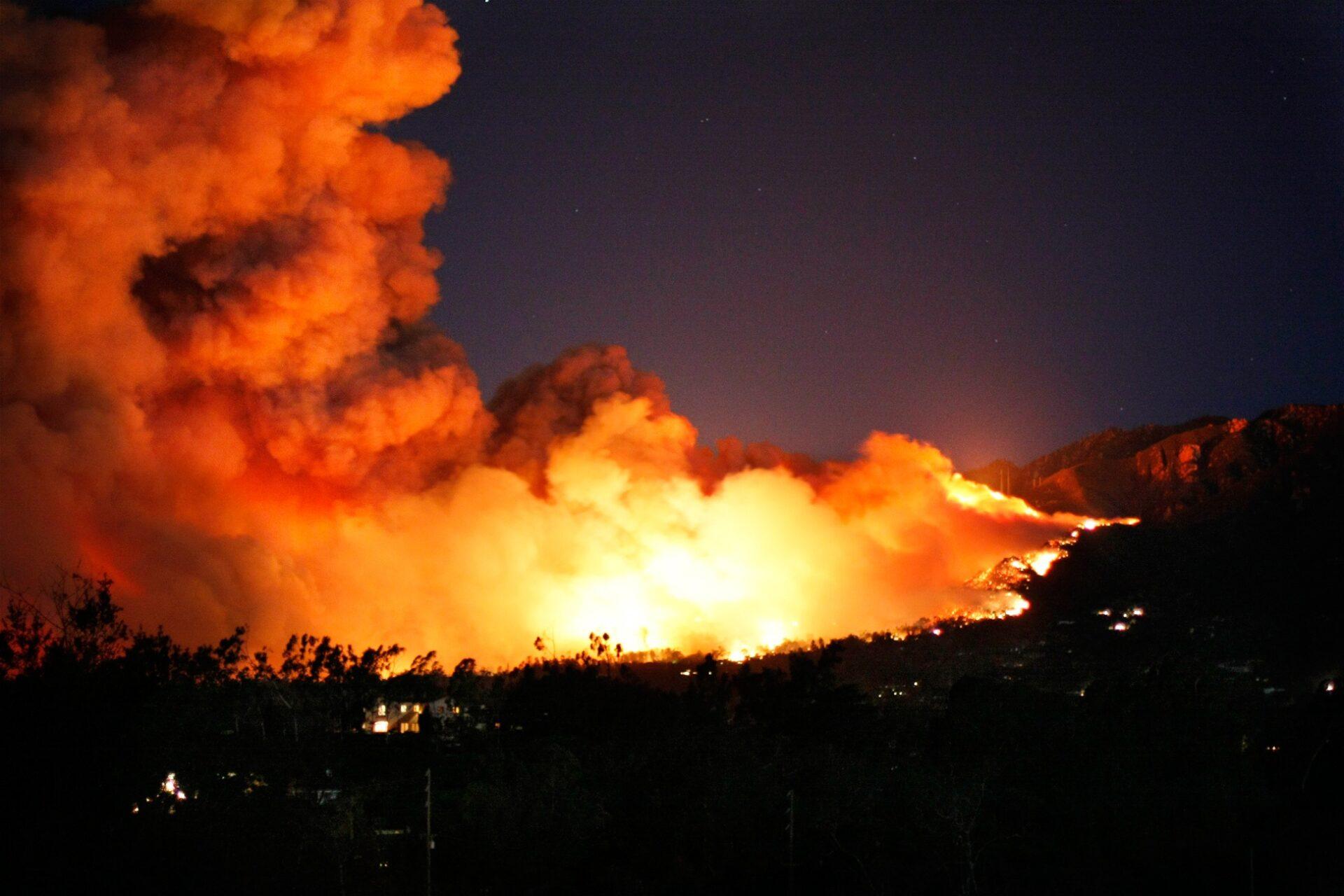 Montecito Tea Fire