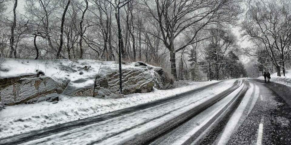 winter driving accident safety