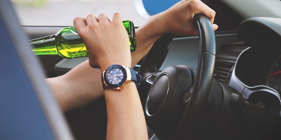 DUI drinking and driving accident driving safety