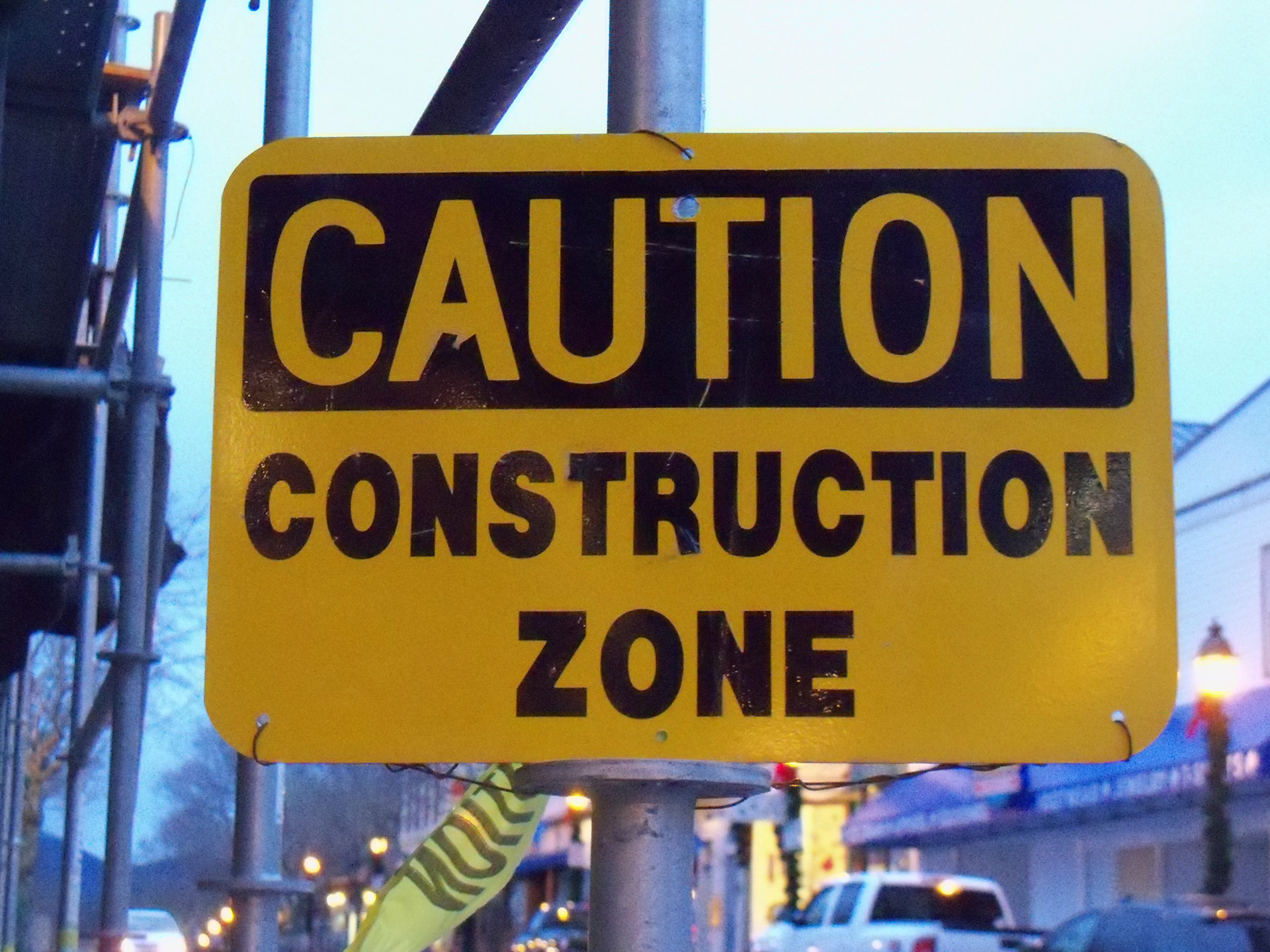 construction zone safety accident work zone