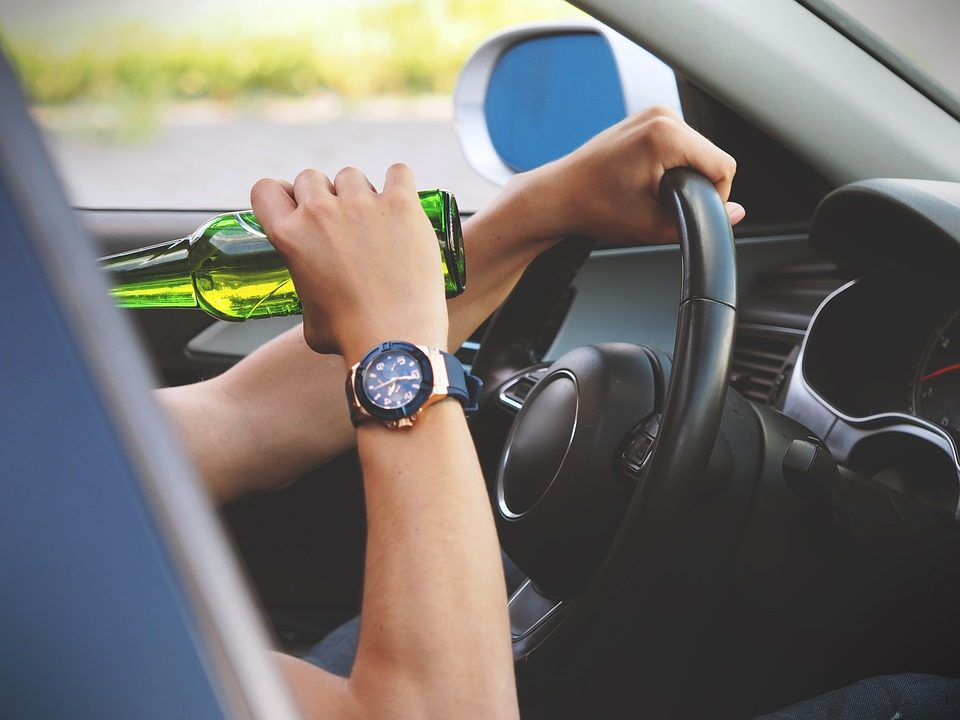 DUI accident drinking and driving