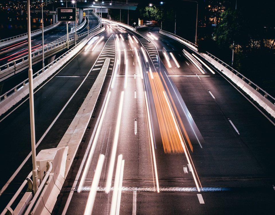 HOV lanes accident traffic safety