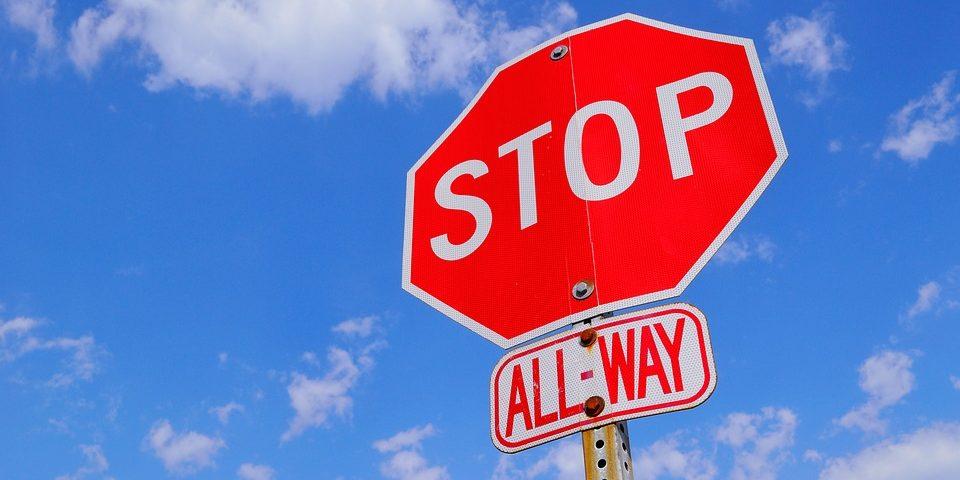 crash children injured stop sign