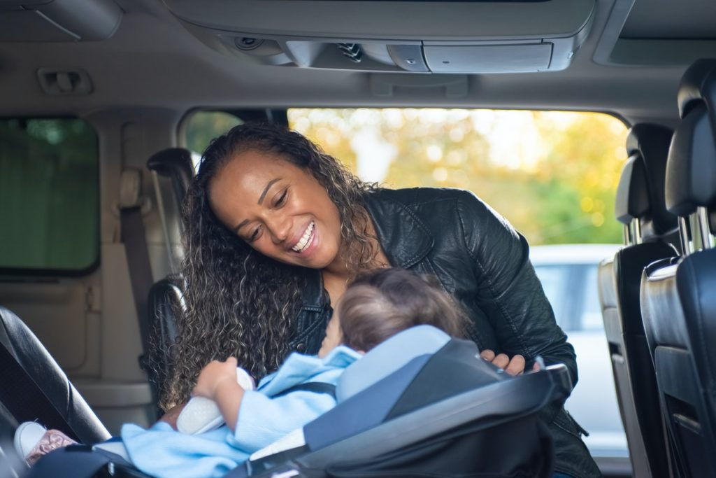 car safety seat child nissan accident personal injury lawyer seattle
