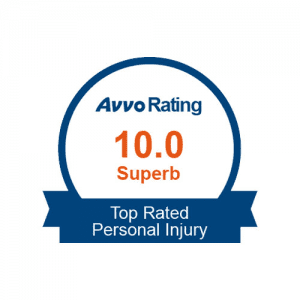Avvo Rating 10.0 Superb Top Attorney Personal Injury