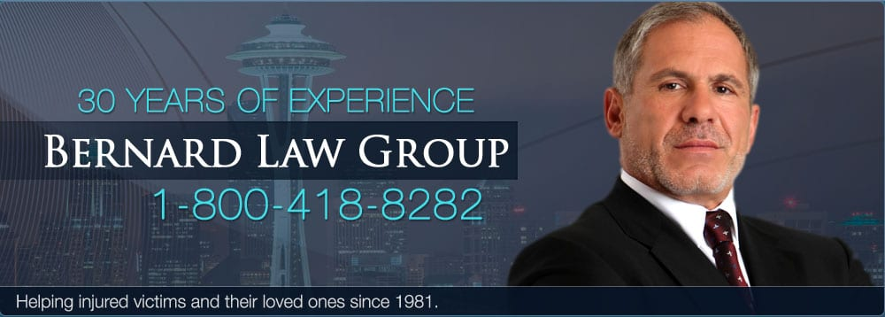 Bernard law Group 30 Years Experience